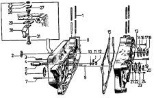 Simson S50 3-Gang - >18 Motor Schrauben Set 5<  Normteile Satz NEU