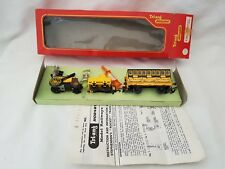TRIANG R346 STEPHENSON'S ROCKET TRAIN + COACH SET VERY NICE BOXED INSTRUCTIONS