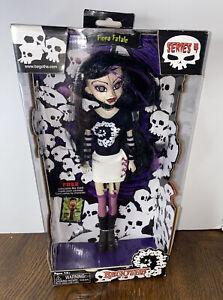 """Fiona Fatale DOLL Bleeding Edge Goths Dead Horror Series 4 NRFP 13"""" Tall 2005"""