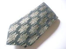 TKR452 BUGATTI Krawatte schwarz Ornamente 100% Seide wie Neu!