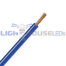 18 AWG - Gauge - Electrical Wire - Blue - 5 Feet