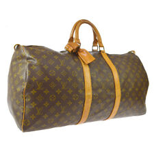 LOUIS VUITTON KEEPALL 55 TRAVEL HAND BAG PURSE MONOGRAM dk M41424 SD NR15454