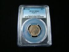 1913-D Type 2 Buffalo Nickel PCGS Graded MS63 36770404