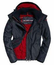Small - New Mens Superdry Zip Hooded Arctic Sd-Windcheater Jacket Indigo Marl