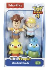 *BRAND NEW* Fisher Price Little People Toy Story 4 Woody & Friends Figures