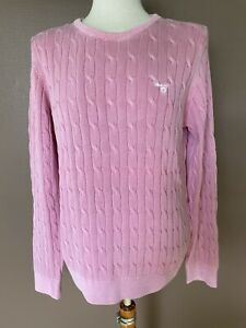 Zopfpullover Gant Sunbleached Cable Cotton Crew, M, NP: 139,90€