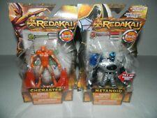REDAKAI Lot of 2 Action Figures LIGHT UP METANOID + STEMASTER NEW