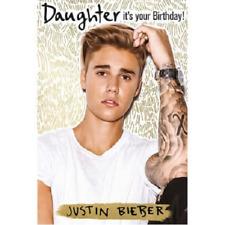 Justin Bieber Purpose Daughter Birthday Card