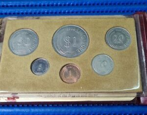 1980 Singapore Uncirculated Coin Set