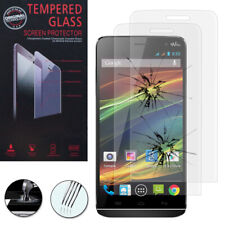 2X Safety Glass for Wiko Slide Genuine Glass Screen Protector