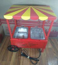 Old Fashion Hot Dog Broiler Warmer Portable Roller Grill Carnival Food