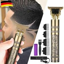 DHL Profi Elektrischer Haarschneider T-Blade Trimmer Barber USB Cordless Trimmer