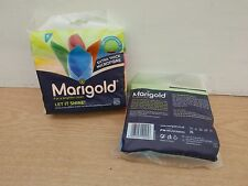 2 PACKS OF 4  MARIGOLD LET IT SHINE KNITTED MICROFIBRE CLEANING CLOTHS