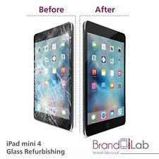 IPad MINI 4 schermo rotto vetro servizio di riparazione (LCD deve lavorare) Nero Bianco