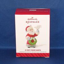 Hallmark - 2014 A Visit From Santa #6 Final Dove - Keepsake Christmas Ornament