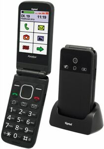 Tiptel Ergophone 6370 pro Seniorenhandy schwarz