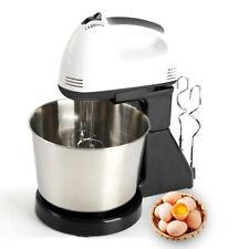 Electric Food Egg Hand Mixer Cake Dough Stand Blender Bowl Beater EU Plug 220V