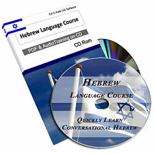 Hebrew Language Learn To Speak Course Easy Home Learning Study Audio Mp3 CD 157