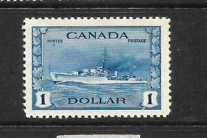 CANADA 1942-48    $1   BLUE   MNH    Sc 262