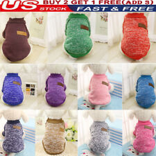 Pet Dog Cat Warm Fleece Vest Clothes Coats Shirt Puppy Sweater Winter Apparel '