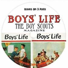 Boys Life Magazine 395 Issues 3 CD DVD Scouts Vintage Scout Jamboree America