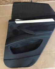 2012-2013 BMW X6 REAR RIGHT DOOR PANEL W CURTAIN SUN BLOCK ROLL SHADE OEM