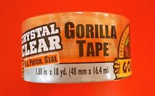 "Gorilla Clear Repair Tape Vinyl Patch Inflatable Underwater Wet Dry 1.88"" x 54'"