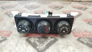 2005-2006 Pontiac GTO OEM Heater Heat & AC A/C Climate Control Panel 92181684