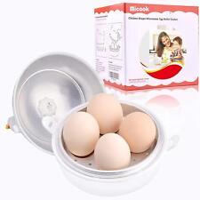 Microwave Egg Boiler 4 Eggs Ball Shape Cooker Hard Boiled Boiler Kitchen Tool
