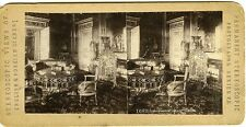 BUCKINGHAM PALACE LONDON vue stéréo circa 1890 photo