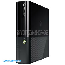XBox 360 Slim E Konsole schwarz matt glänzend - 120 Watt - NEU