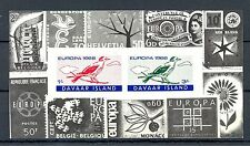 GB LOCAL DAVAAR  ISLAND  1  BLOCK  IMPERF -EUROPA 1966 -  **  MNH VF   BIRD   @2