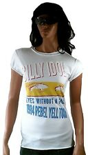 AMPLIFIED BILLY Ídolo 1984 Rebel Yell Tour EYES SIN A CARA Camiseta Vintage XS/S