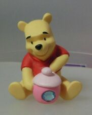 """POOH AND FRIENDS  """"DECEMBER POOH HONEY POT FIGURINE"""" 1216313 MINT IN BOX"""
