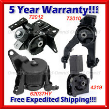 K734 Fit 2005-2010 Scion TC 2.4L AUTO Trans, Motor & Trans Mount Set 4PCS