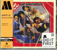 COMMODORES-CAUGHT IN THE ACT-JAPAN CD Ltd/Ed B63