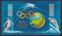 Ungarn 1972 postfrisch MiNr. Block 89A Olympische Spiele Sapporo und München