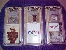 Centennial Collection Olympic Pin-Cards Lot of 3. Reduced!