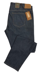 COURAGE 42 x 34 RINSE MERCERIZED MID RISE STRAIGHT MENS JEANS by 34 HERITAGE