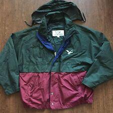 Men's Vintage Triple Fat Goose Downhill Lightweight Windbreaker Jacket Size L