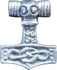 """Thor's Martillo """"Mjollnir"""" - Collar de Estaño (hecho a mano en Inglaterra) (27)"""