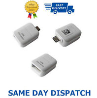 Micro USB Male Host To Female USB OTG Adapter For Samsung Galaxy Phones