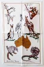 Tea Towel - Australian Fauna - 100% Cotton