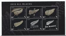 NEW ZEALAND 2019 ALL BLACKS MINIATURE SHEET UNMOUNTED MINT, MNH
