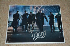 ROBIN LORD TAYLOR & DREW POWELL signed Autogramm In Person 20x25 cm GOTHAM