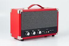 GPO Westwood Red Wireless Bluetooth Speaker Retro Compact