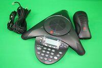 Polycom SoundStation 2 SoundStation2 SS2 Phone w/ Power Module 2201-16000-001