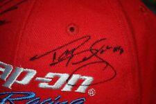 Mint Unworn Snap-on Racing Baseball Hat Signed Stewart Herbert Johnson Pedregon