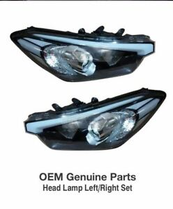 OEM Parts Standard Type Head Light Lamp LH + RH for KIA 2013 - 2017 Cerato / K3