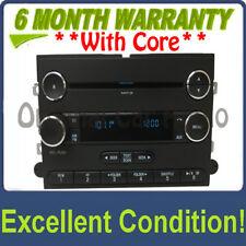 2011 - 2015 Ford F250 F350 F450 Super Duty OEM 12 Volt Single CD MP3 AM FM Radio